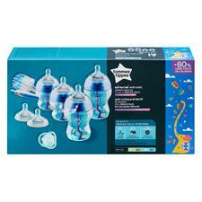 Distributor of Tommee Tippee AAC Bottle Starter Kit Boy