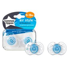 Distributor of Tommee Tippee Closer to Nature Air Style Soothers 6-18m 2Pk