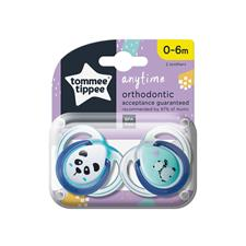 Distributor of Tommee Tippee Closer to Nature Anytime Soother 0-6m 2Pk