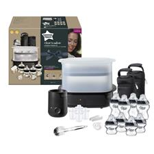 Distributor of Tommee Tippee Closer to Nature Complete Feeding Set Black