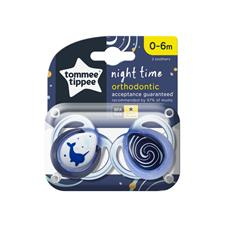 Distributor of Tommee Tippee Closer to Nature Night Time Soother 0-6m 2Pk