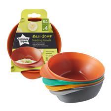 Distributor of Tommee Tippee Easy Scoop Feeding Bowls 4 Pk