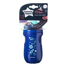 Distributor of Tommee Tippee Insulated Active Straw Cup Boy12m+