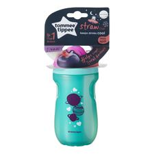 Distributor of Tommee Tippee Insulated Active Straw Cup Girl 12m+