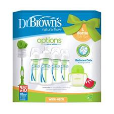 Dr Brown's Options 7pc Bottle Gift Set
