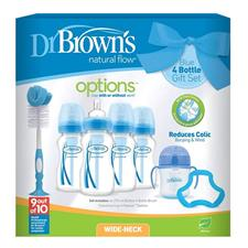 Dr Brown's Options 7pc Gift Set Blue