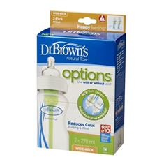 Dr Brown's Options Bottle 270ml 2Pk