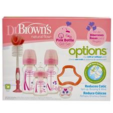 Dr Brown's Options Special Edition Gift Set Pink