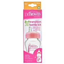 Dr Brown's Options Transition Bottle Pink 270ml