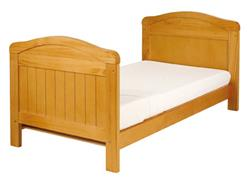 East Coast Country Cot Bed - White