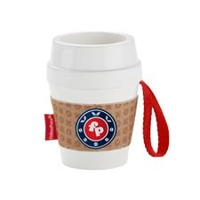 Fisher-Price Coffee Cup Rattle and Teether Toy