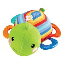 Fisher-Price Knit Turtle Musical Teether