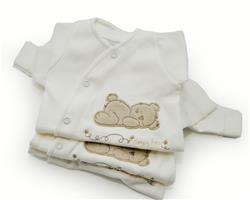 Gorgeous Gifts Organic Sleepy Bear Sleepsuit - 5-8lbs