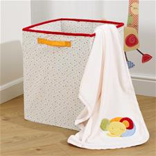 Jolly Jamboree Applique Boa Pram Blanket