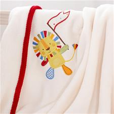 Jolly Jamboree Cotbed Blanket
