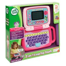 Supplier of Leap Frog 2-in-1 LeapTop Touch Laptop pink
