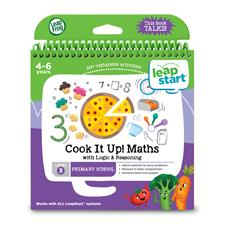 Leap Frog LeapStart Cook it Up! Maths Activity Book