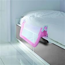 Lindam Toddler Easy Fit Bed Rail Pink