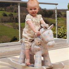 Little Bird Told Me Rosie & Mae Rocking Horse 9m+