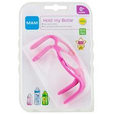 MAM Bottle Handles Pink 2Pk