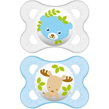 MAM Nature Soother 0m+ 2Pk
