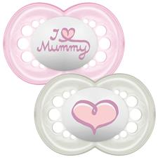 MAM Style (I Love) Soother 6m+ 2Pk