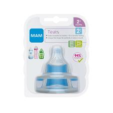 MAM Teat Medium Flow 2Pk
