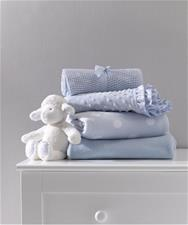 Mothercare Fleece Crib Blanket - Cream