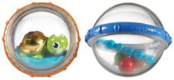 Munchkin Bath Float and Play Bubble Balls 2Pk