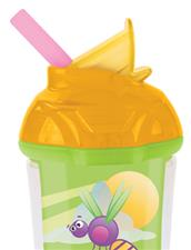 Munchkin Click Lock Insulated Flip Straw Cup 9oz/266ml