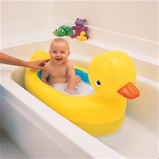 Munchkin Hot Inflatable Safety Duck Tub
