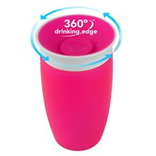 Munchkin Miracle 360 Sippy Cup Pink 296ml