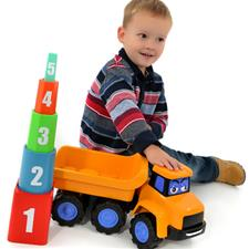 My 1st JCB Toy Stacking Stanley Mega Truck