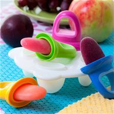 Distributor of Nuby Garden Fresh Popsicles 4Pk