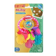 Distributor of Nuby Icy Bites Keys Teether Pink