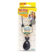 Nuby Teething Necklace Black