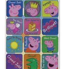 Paper Projects Peppa Pig Reward Stickers 95mm x 195mm