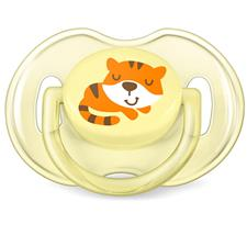 Philips Avent Classic Soothers Tiger & Flamingo 0-6m 2Pk