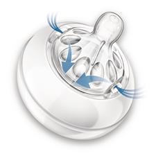 Philips Avent Natural Teat Newborn Flow 2Pk
