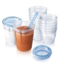 Philips Avent Reuseable Breast Milk Storage Cups 10Pk