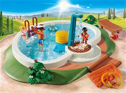 Distributor of Playmobil Swimming Pool with Functioning Shower and Floating Raft