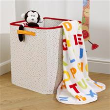 Jolly Jamboree Printed Boa Pram Blanket
