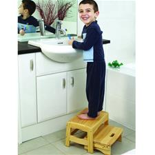 Safety First Wooden Step Stool