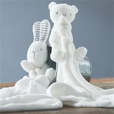 Silvercloud Made with Love Bear & Bunny Comforter