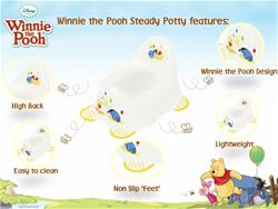 Solution Disney Steady Potty - Winnie the Pooh