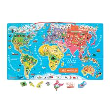 Supplier of Janod Magnetic World Map Puzzle
