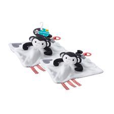 Distributor of Tommee Tippee Soft Comforter Macro Monkey
