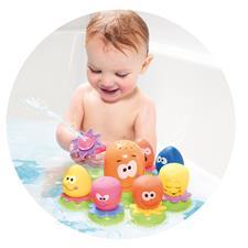 Tomy Bath Playset Octopals