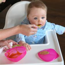 Vital Baby On The Go Weaning Set Pink