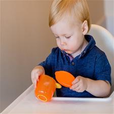 Vital Baby Prep and Go Food Pots Orange